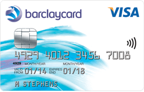 Barclaycard Initial Credit Card with £40 cashback