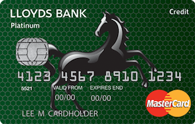 Lloyds Bank Platinum 39 Month BT MasterCard