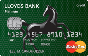Lloyds Bank Platinum 40 Month BT MasterCard