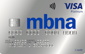 MBNA Platinum 40 Month Credit Card