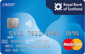 Royal Bank of Scotland Reward Credit Card MasterCard